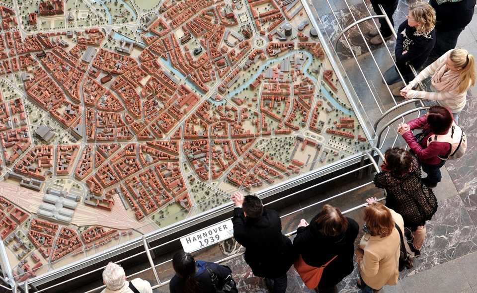Modell zur Stadtenwicklung