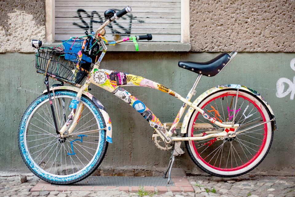 Berlin - Buntes Fahrrad